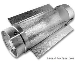 Product image of cool tube with reflector wings attached