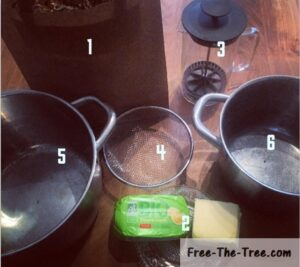 Only 6 tools needed to make cannabutter