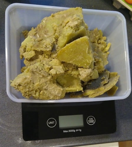 480g of cannabutter