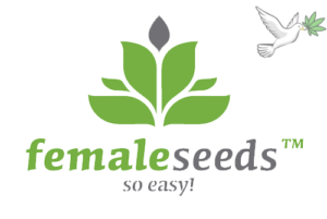 logo of female seeds seed bank