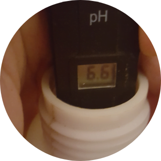 How to measure the pH level of your watering mix