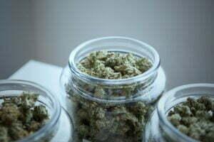 jar full of weed